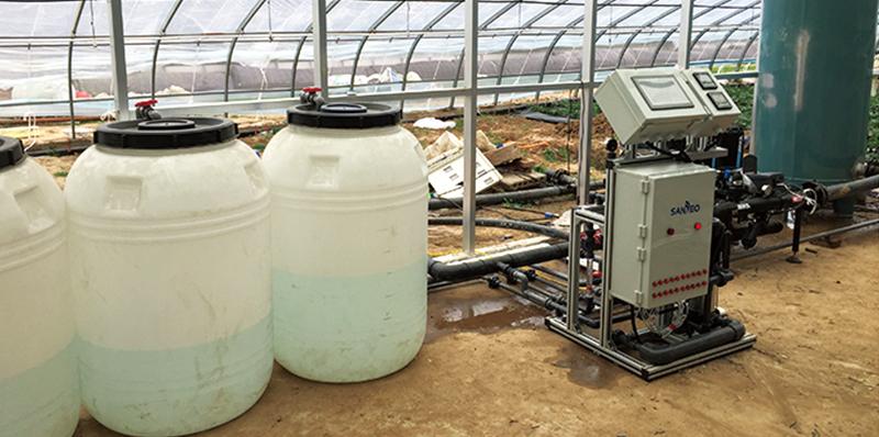 天津崔黄口温室大棚水肥一体化项目