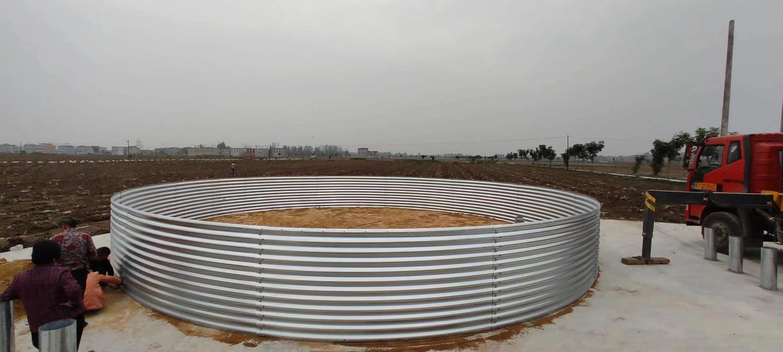 农业灌溉装配式镀锌储水罐灌溉蓄水池