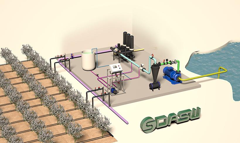 智慧农业:水肥一体化设备